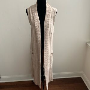 Anthropologie Angel of the North Maxi Cardigan L